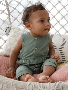 Baby-Dungarees & All-in-ones-Sleeveless Jumpsuit for Babies