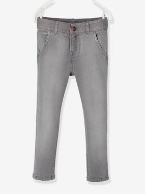 Boys-Jeans-Straight Cut Chino-Style Jeans, for Boys