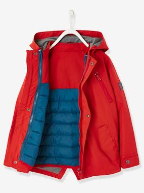 Vertbaudet Collection-Boys-3-in-1 Parka for Boys