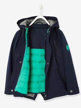Vertbaudet Collection-3-in-1 Parka for Boys