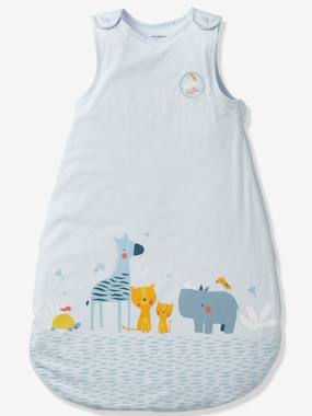 Bedding & Decor-Baby Bedding-Summer Special Baby Sleep Bag, BLUE JUNGLE