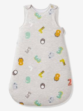 Bedding-Baby Bedding-Sleepbags-Sleeveless Baby Sleep Bag, ANIMO CHIFFRES