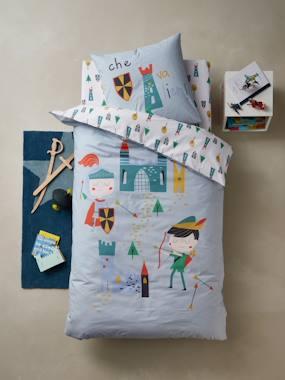 Bedding-Child's Bedding-Duvet Covers-Duvet Cover + Pillowcase Set, LANCELOT & CO Theme
