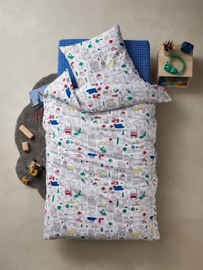 Bedding & Decor-Child's Bedding-Children's Duvet Cover & Pillowcase Set, COLORAMI Theme