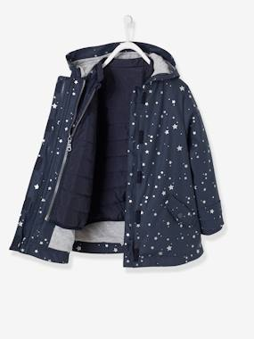 Mid season sale-Girls-Coats & Jackets-3-in-1 Raincoat for Girls