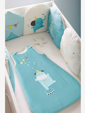 Bedding & Decor-Sleeveless Baby Sleep Bag, BABY CIRCUS Theme