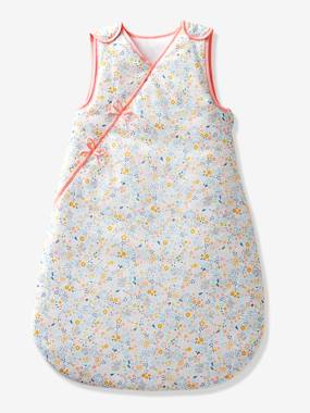 Bedding-Baby Bedding-Sleepbags-Sleeveless Baby Sleep Bag, Wrap-over Model, Koala and Flowers Theme