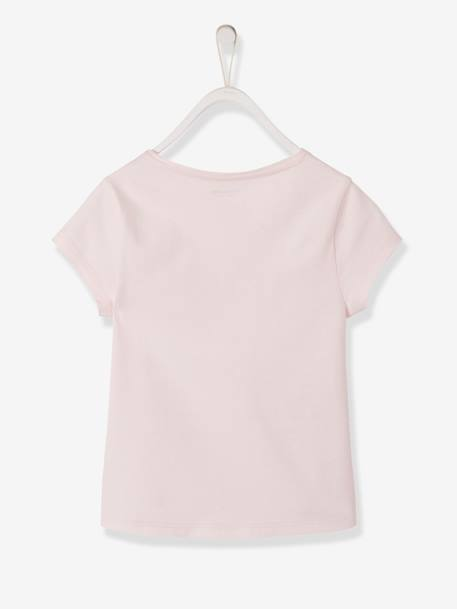 9d2e8843e T-Shirt with Best Friends in Embroidered Details for Girls GREY LIGHT MIXED  COLOR -