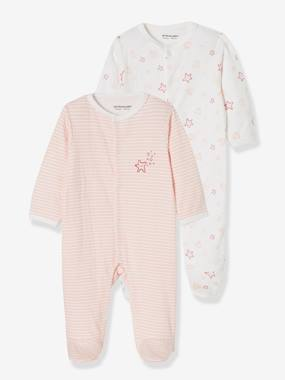 Baby-Pyjamas-Pack of 2 Sleepsuits for Newborns, Seaside