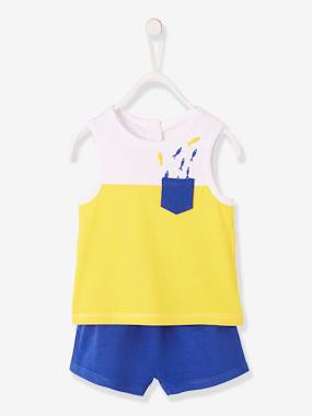 Baby-Outfits-Tank Top + Shorts Outfit for Baby Boys