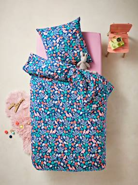 Bedding-Child's Bedding-Duvet Covers-Duvet Cover + Pillowcase Set, SWEET TROPIK Theme