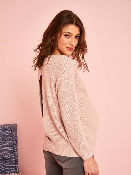 Iridescent Knit for Maternity PINK LIGHT MIXED COLOR - vertbaudet enfant