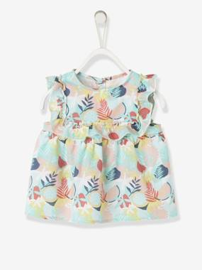 Bonnes affaires-Baby-Blouse with Frill for Baby Girls