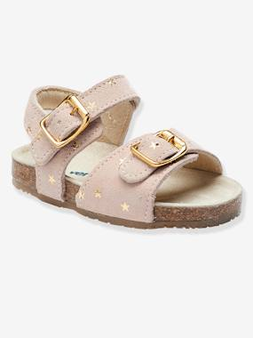 Bonnes affaires-Shoes-Anatomic Leather Sandals for Baby Girls