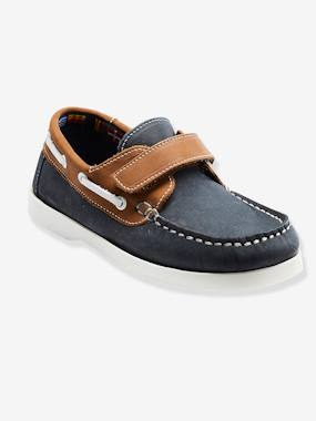 Vertbaudet Sale-Shoes-Boys Footwear-Leather Loafer Shoes for Boys