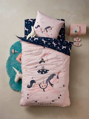 Bedding-Child's Bedding-Duvet Covers-Duvet Cover + Pillowcase Set, MAGIC CIRCUS Theme