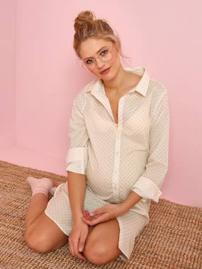 Maternity-Maternity and Nursing Nightie