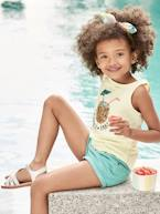 Top with Sequinned Pineapple, for Girls  - vertbaudet enfant