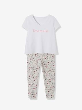 Maternity-Nightwear & Loungewear-Maternity & Nursing 2-Piece Pyjama Set