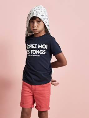 Mid season sale-Boys-T-Shirt with Message, for Boys