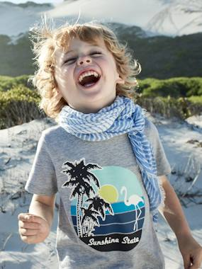 Boys-Accessories-Striped Scarf for Boys