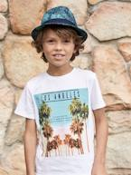 Borsalino-Type Hat with Exotic Print, for Boys  - vertbaudet enfant
