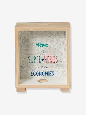 Bedding & Decor-Decoration-Wall Décor-Piggy Bank-Picture, Superheroes