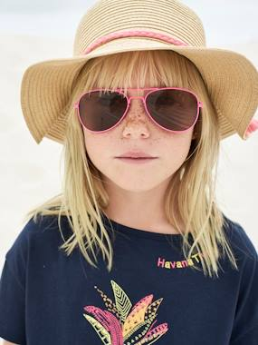 Vertbaudet Sale-Girls-Accessories-Aviator-Style Sunglasses for Girls