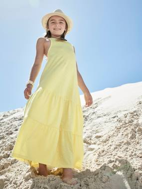 Vertbaudet Collection-Long Dress for Girls