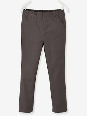Festive favourite-Boys-Cotton/Linen Chino Trousers for Boys