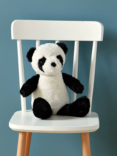 Panda Toy BLACK MEDIUM SOLID WITH DESIGN - vertbaudet enfant
