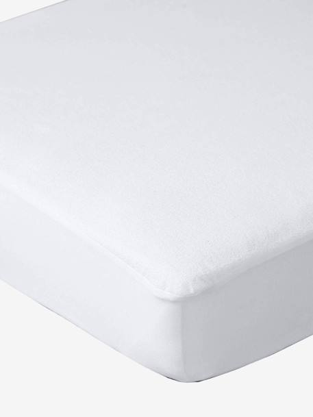 Temperature Regulating Fitted Sheet White - vertbaudet enfant