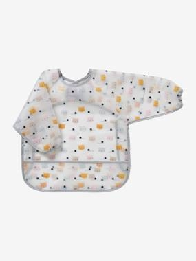 Nursery-Bib with Sleeves, for Babies, by Vertbaudet