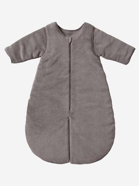 Baby outfits-Bedding & Decor-Microfibre Sleep Bag With Detachable Long Sleeve, For Strolling