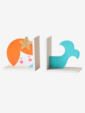 Bedding & Decor-Mermaid-Shaped Book End