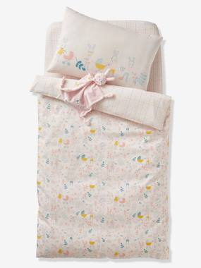 Bedding & Decor-Baby Bedding-Duvet Covers-Duvet Cover for Babies, Lapin Fleuri