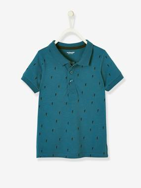 haut-Printed Polo Shirt, for Boys