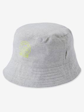 Boys-Accessories-Reversible Bucket Hat for Boys, Striped/Surfing Motif