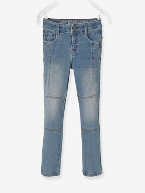 Boys-Jeans-MEDIUM fit, Boys' Slim Fit Biker-Style Jeans
