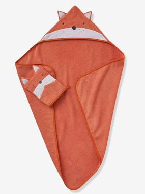 Bedding & Decor-Bathing-Bath Capes-Bath Cape, Fox