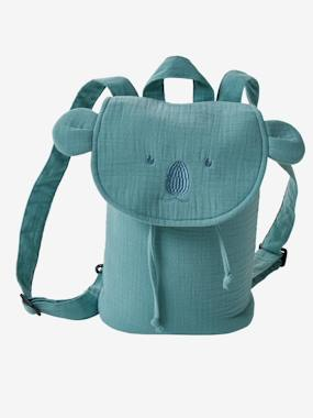 Toys-Cuddly Toys, Comforters & Soft Toys-Backpack with Animals, in Cotton