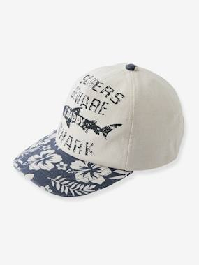 Boys-Accessories-Cap for Boys, Hawaiian & Shark Motifs