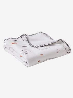Bedding & Decor-Baby Bedding-Blankets & Bedspreads-Throw in Microfibre, Black&Play