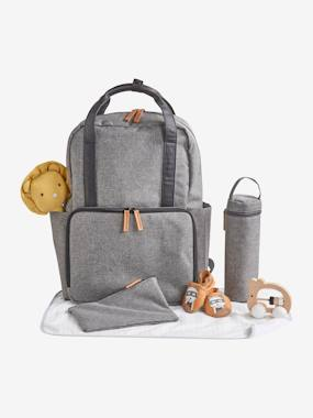 Nursery-Nappy-Changing Backpack, Vertbaudet