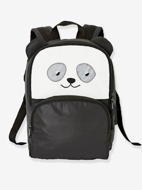 Boys-Accessories-School Supplies-Panda Backpack in Faux Fur, for Boys