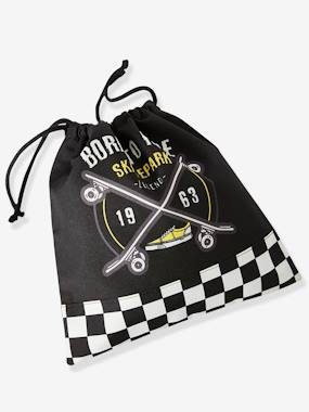 Boys-Accessories-School Supplies-Snack Bag with Skateboard, for Boys