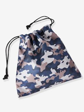 Boys-Accessories-School Supplies-Snack Bag with Camouflage Motif, for Boys