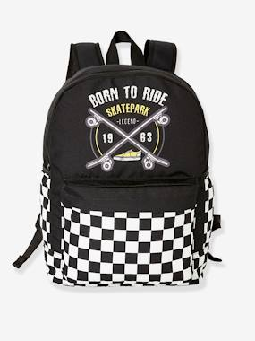 Boys-Accessories-School Supplies-Backpack with Skateboard, for Boys