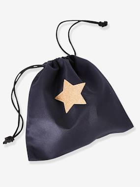 Girls-Accessories-Bags-Snack Bag with Glittery Star for Girls