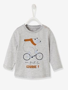 Baby-T-shirts & Roll Neck T-Shirts-Stylish Top for Baby Boys